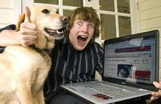 The man who married his dog, Joseph Guiso and Honey the labrador, have become a media and internet sensation, Thursday, 02 December 2010.